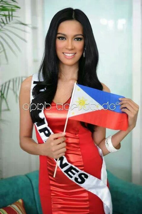 Ariella Arida before leaving for Moscow. (Photo credit: OPMB Worldwide)