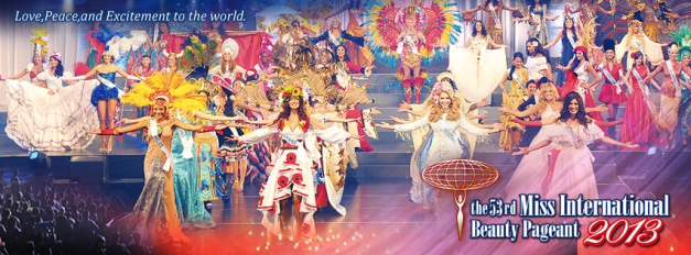 Miss International 2013 will be crowned in Tokyo, Japan on December 17.
