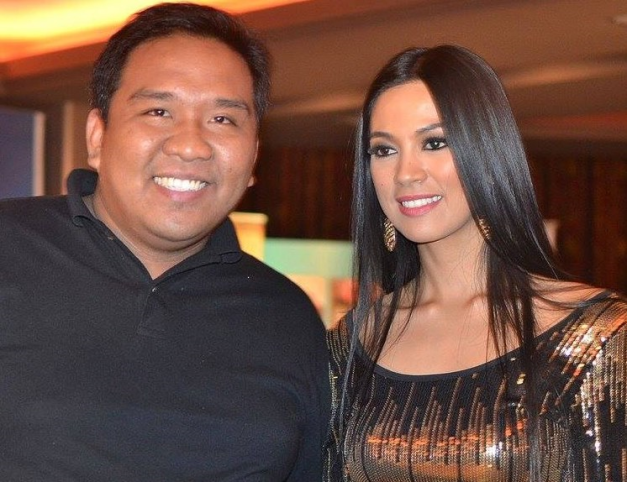 ... (left) is credited for having recommended Ariella Arida to A&Q