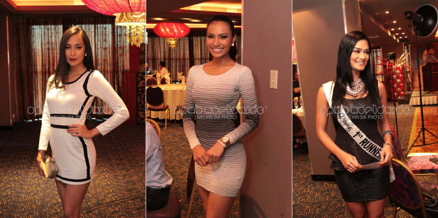 What are the chances of Hannah Sison, Parul Shah and Pia Wurtzbach competing against each other once more in Bb. Pilipinas 2014? (Photo credit: Melvin Sia/OPMB Worldwide)