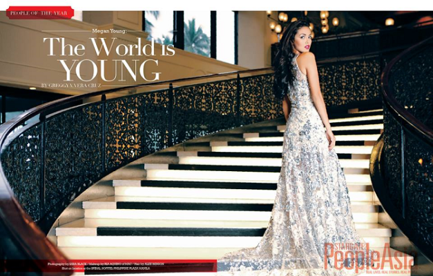 Miss World 2013 Megan Young as part of PeopleAsia Magazine's People of the Year