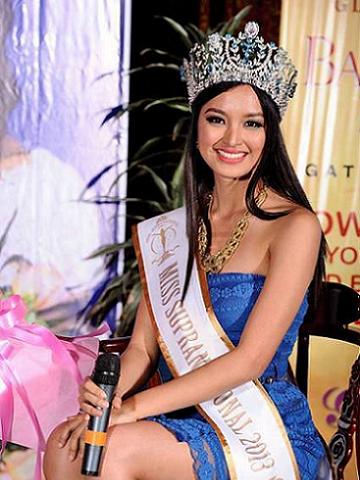 Mutya Datul started the winning streak by clinching Miss Supranational 2013 in Minsk.
