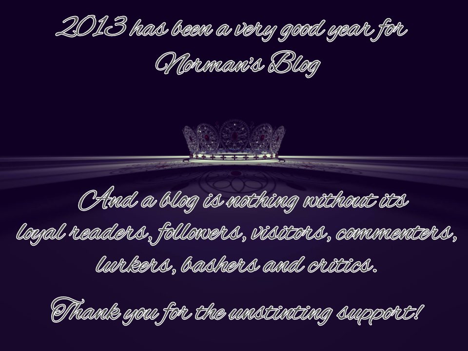 Just like Philippine pageantry, I consider 2013 as my most significant ...