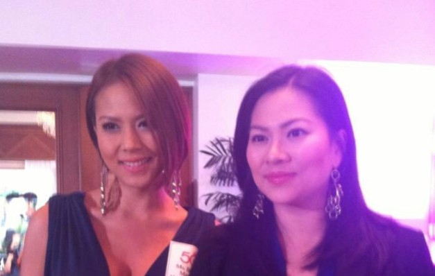 Bianca (left) and Kate Manalo are allegedly at odds on whether to allow sister Nichole to join Binibini.