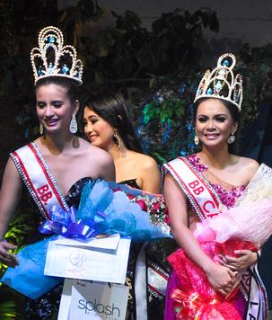 Darlene (right) won Bb. Cagayan 2013, while Sheena Manuel got the Turismo title.