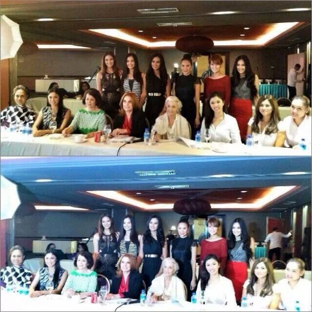 The Bb. Pilipinas 2014 Screening Committee