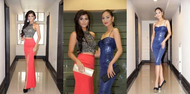Angee (left) and Aiza are both confident and poised to win.