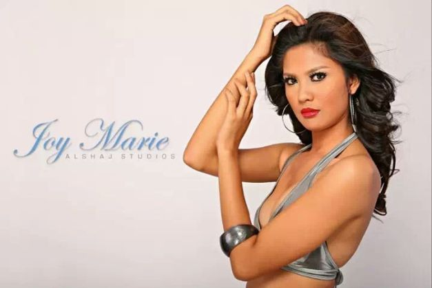 Joy Marie Gangan has already submitted her Bb. Pilipinas 2014 form.