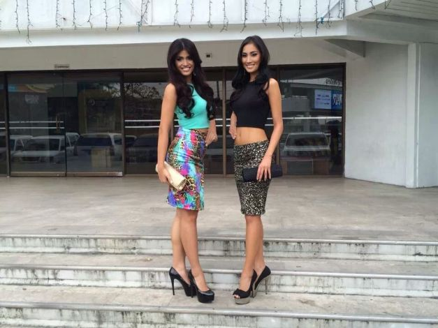 "The two ""Angels"" of R-L Angels for Bb. Pilipinas 2014"
