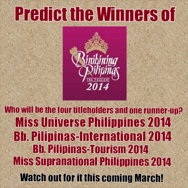 Contest duration: March 1-28, 2014