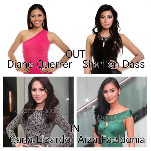 Still 40 Official Candidates, but the pending entry of Carla and Aiza is a welcome development indeed.