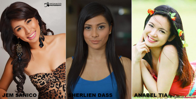 Jem, Sherlien and Anabel are three of the 61 remaining Bb. Pilipinas 2014 contenders who have not seen the light of day in this blog.