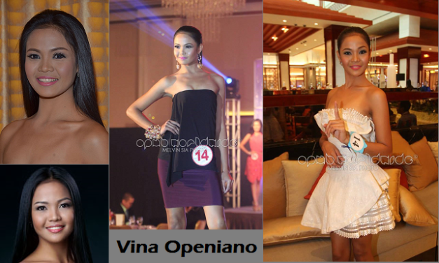 Will Vina find 'it' in Bb. Pilipinas 2014?
