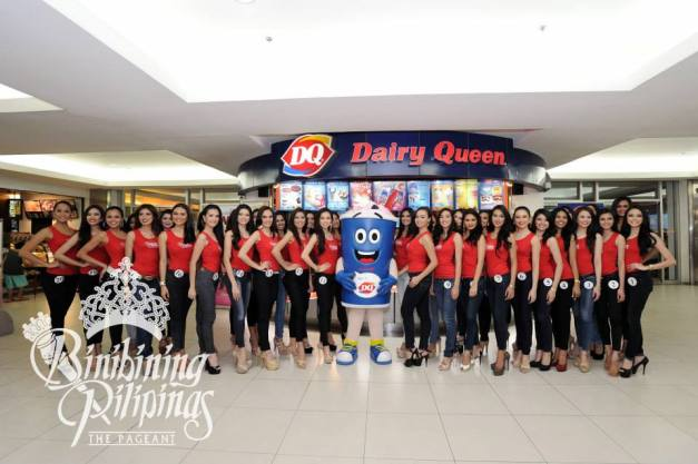 Dairy Queen and Bb. Pilipinas - they go together