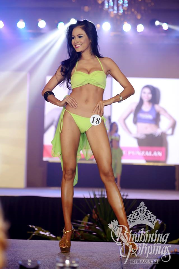 Binibini 18 Ellore Punzalan during the Press Presentation
