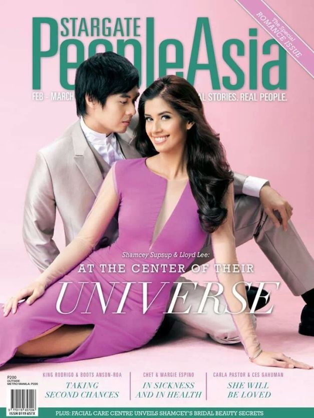Lloyd and Shamcey on the cover of Stargate People Asia Magazine