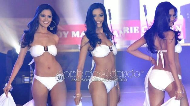 Binibini 30 Joy Marie Gangan during the Bb. Pilipinas 2014 Press Presentation (Photo credit: Emerson Cebanico for OPMB Worldwide)