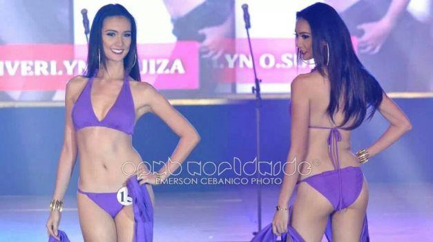 Binibini 15 Kimverlyn Suiza during the Bb. Pilipinas 2014 Press Presentation (Photo credit: Emerson Cebanico for OPMB Worldwide)
