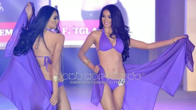 Binibini 14 Emma Mary Tiglao during the Press Presentation (Photo credit: Emerson Cebanico for OPMB Worldwide)