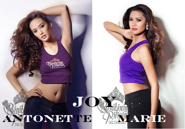 A couple of Joys competing in Bb. Pilipinas 2014