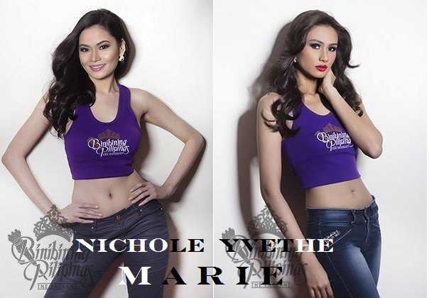 Nichole and Yvethe are the two Maries of Bb, Pilipinas 2014
