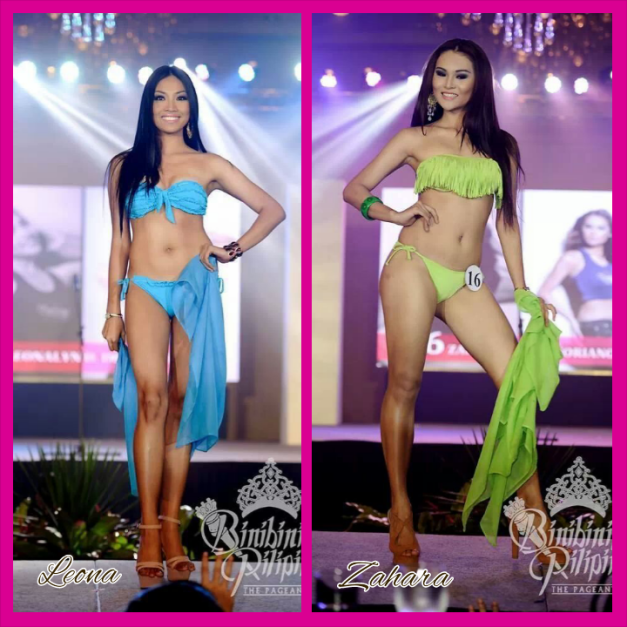 Sporting the long straight dark hair that became an Ara Arida trademark in 2013. Will it bring success to Leona and Zahara this year?