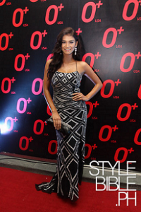 Pia Wurtzbach for a personal appearance with simple formal styling.
