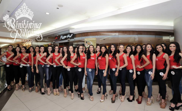 Pizza Hut is almost synonymous to Bb. Pilipinas.