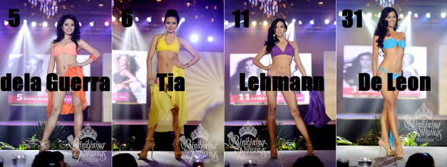 These ladies are 13th-16th on my list (Photo credit: Bruce Casanova for Bb. Pilipinas)