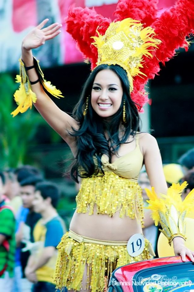Binibini 28 (after being Binibini 19 last year) Hannah Ruth Sison during the 2013 Parade of Beauties (Photo credit: Dennis Natividad)