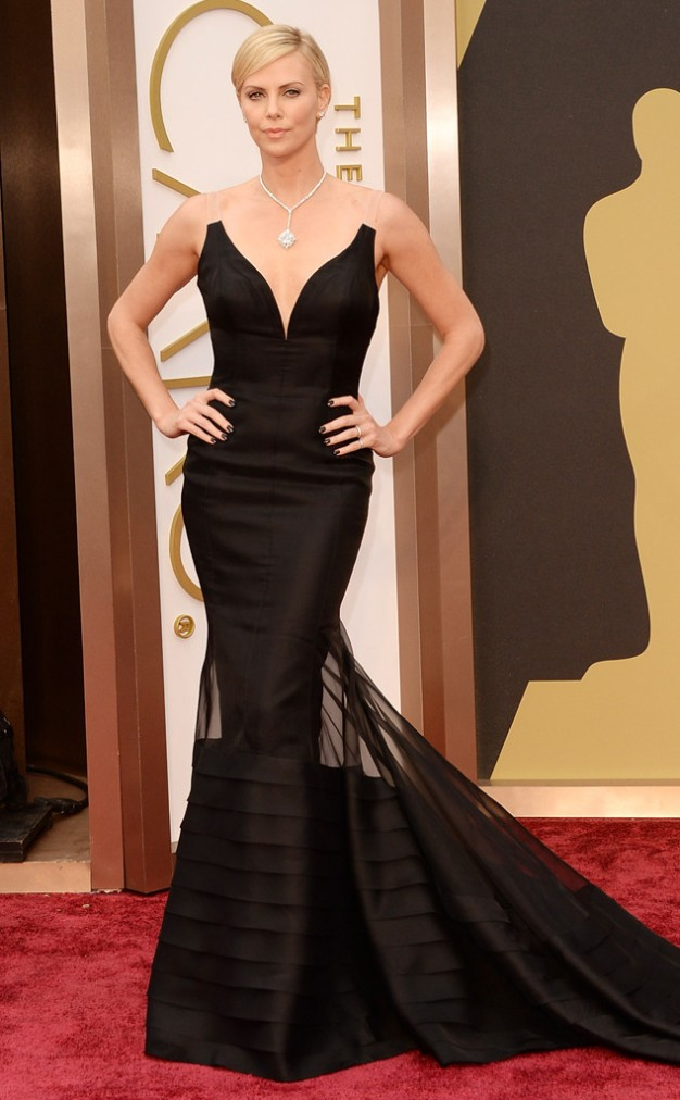 Charlize Theron in Christian Dior
