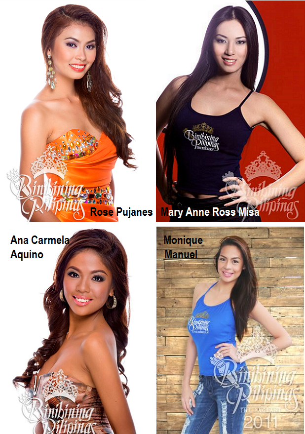 These ladies have already passed the screenings for Miss Philippines Earth 2014.
