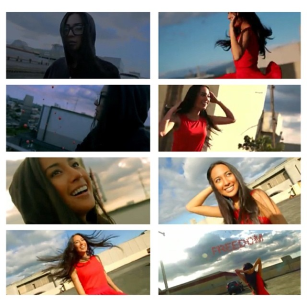 "Above are still shots from the short film ""Let Go"" where Binibini 27 Hannah Ruth Sison was featured. She will never let go of the Bb. Pilipinas dream, though."