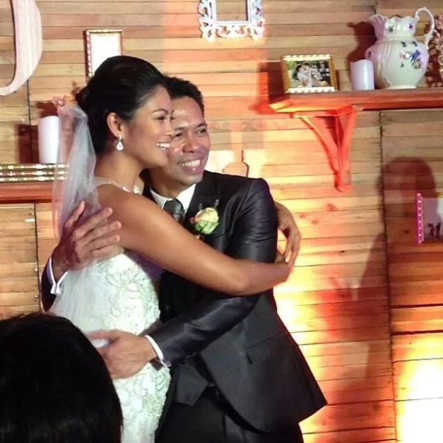 Happily married couple Miriam Quiambao and Ardy Roberto