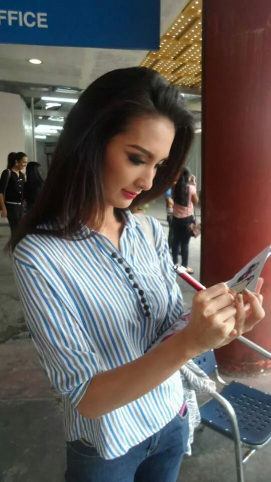 Binibini 15 Kimverlyn Suiza has returned to work behind the camera.
