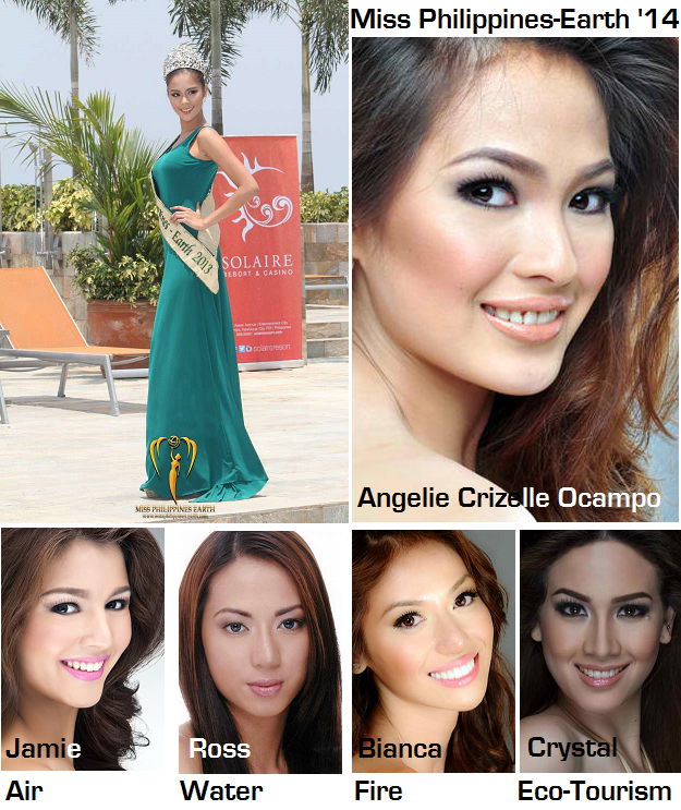 In the end, I give my vote of confidence to Angelie Crizelle Ocampo to win MPE2014 with Jamie, Ross, Bianca and Crystal making up her court.