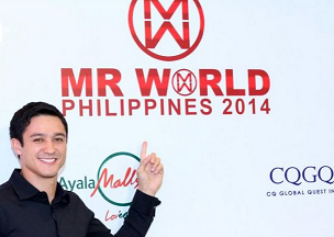 Mr. World Philippines 2012/13 Andrew Wolff is just as excited to know who will succeed him.