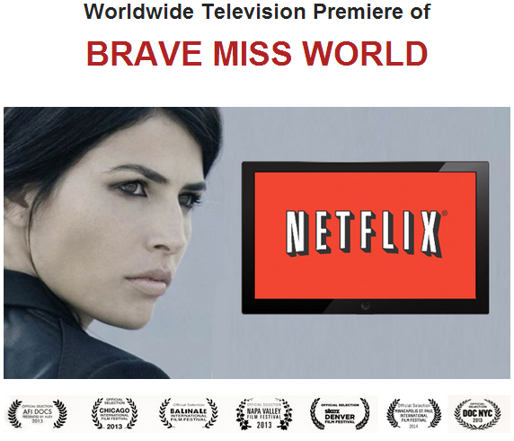 "Miss World 1998 Linor Abargil's ""Brave Miss World"" docu will premiere on Netflix May 29"