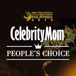 Click above to go straight to the voting page for Little Miss Earth Philippines 2014