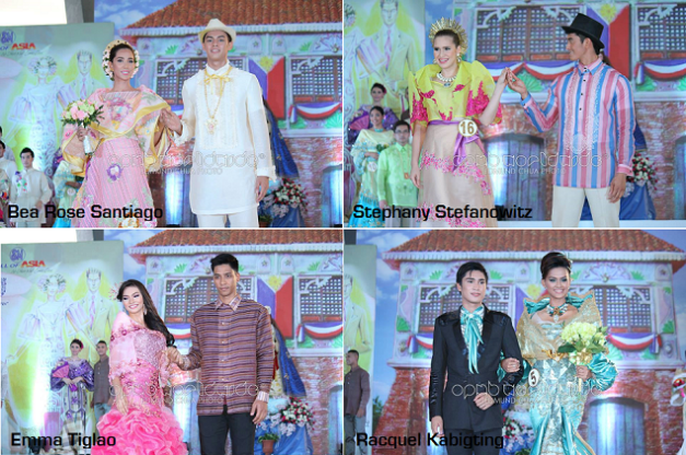 Some of the familiar names and faces during the Santacruzan held at SM Mall of Asia (Photo credit: OPMB Worldwide)