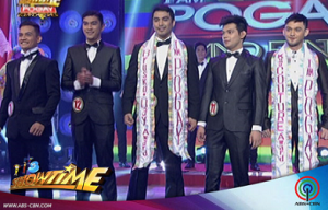 John Raspado (center) with the other I AM POGAY winners