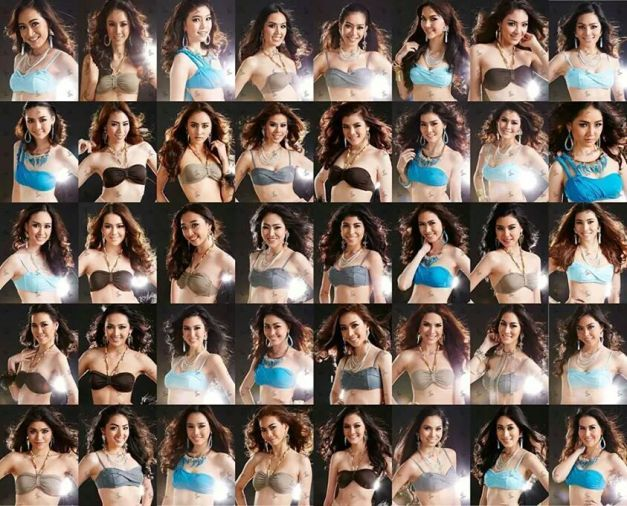 The Forty (40) Official Candidates of Miss Universe Thailand 2014