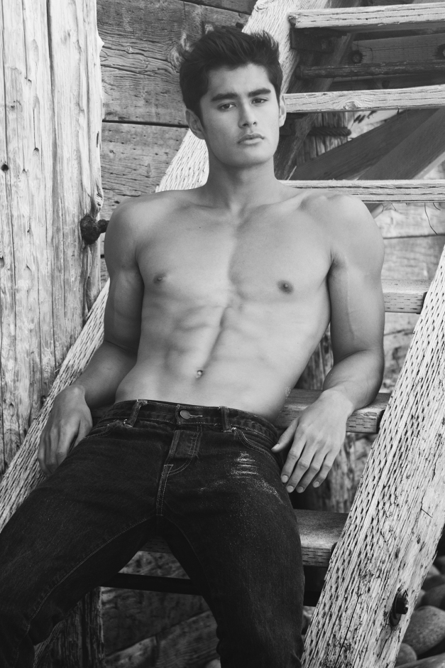 Jeff Langan for Wilhelmina Models