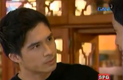 "Vince Velasco playing the role of Mike on ""My Husband's Lover"""