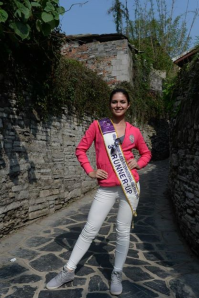 Cristine Cheeny Racel in China last year for Miss Tourism Queen Asia 2013 where she placed 3rd Runner-Up