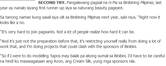 Above is just an excerpt from the interview made by Rommel Gonzales.