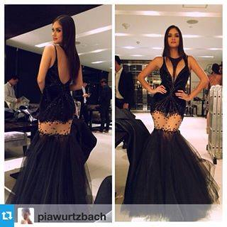 Pia Wurtzbach during the event