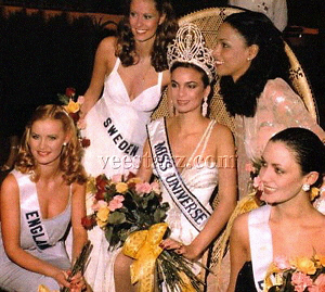 Miss Universe 1979 and her court (Photo credit: veestarz.com)