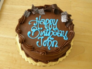 Birthday Cake For John : Norman blogs! Happy Birthday, John Spainhour!