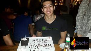 Belated birthday greetings, Gil Wagas!